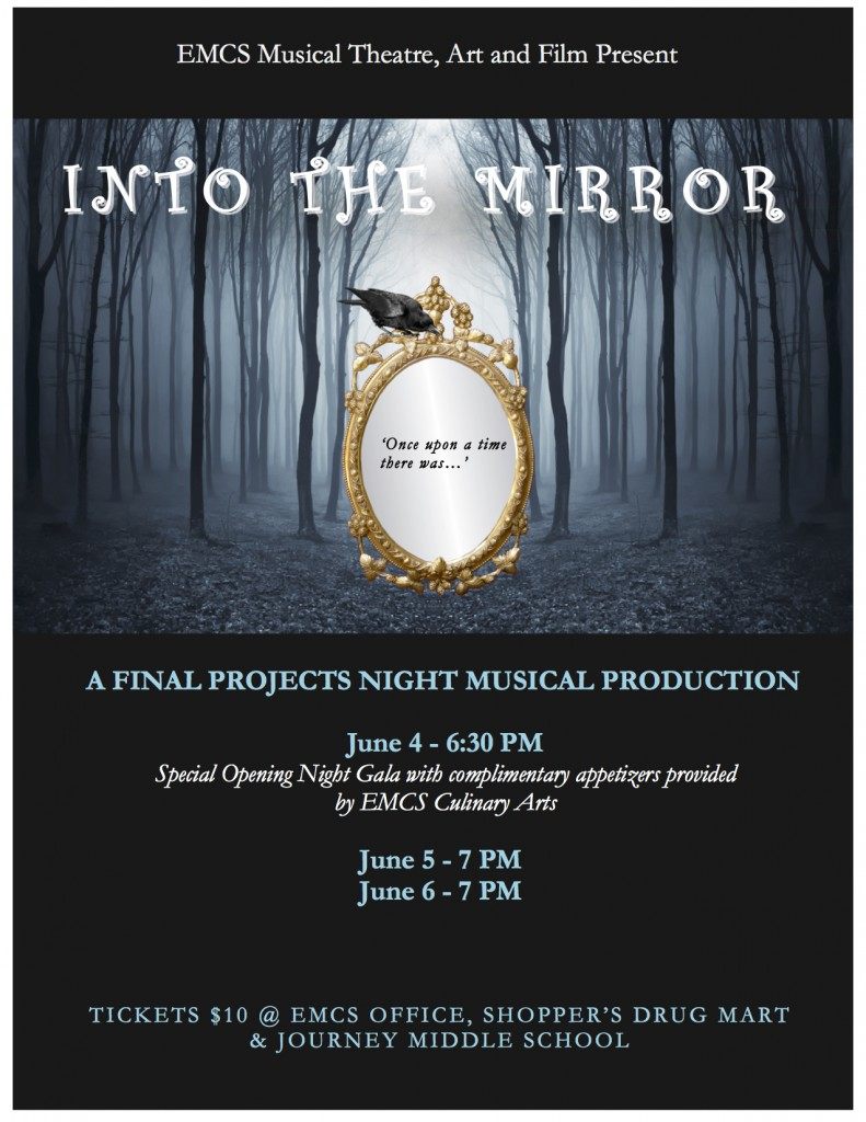 INTO THE MIRROR POSTER