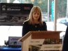 Wendy Hobbs saying a few words on behalf of the Sooke School District
